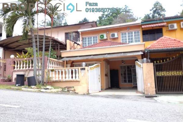 For Sale Terrace at Taman Melur, Ampang Freehold Semi Furnished 4R/3B 670k