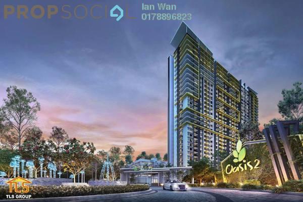 For Sale Condominium at Oasis 1 @ Mutiara Heights, Kajang Freehold Semi Furnished 3R/2B 485k