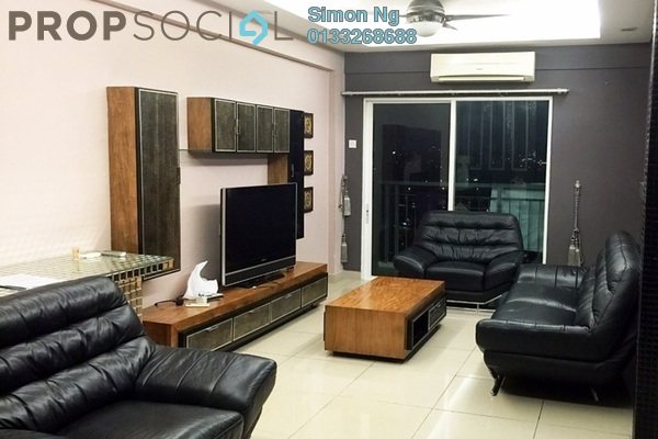 For Rent Condominium at First Residence, Kepong Leasehold Fully Furnished 3R/2B 2.25k