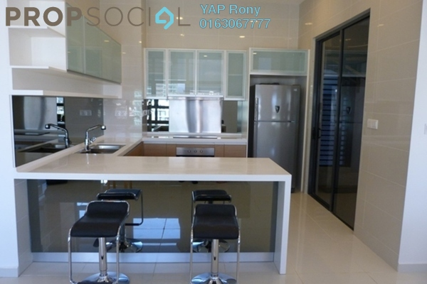For Rent Condominium at Mirage Residence, KLCC Freehold Fully Furnished 2R/2B 7.76k