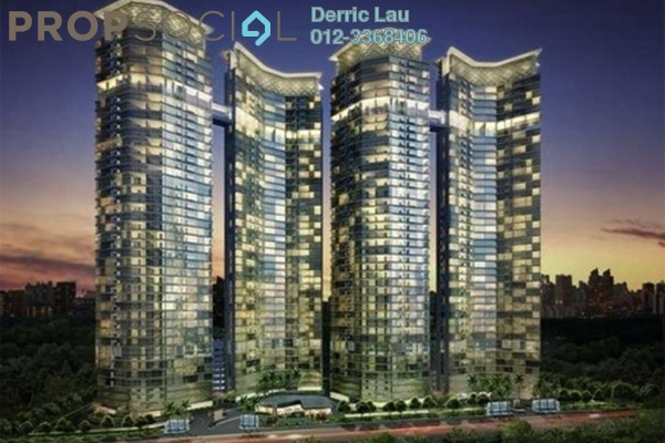 For Rent Condominium at Setia Sky Residences, KLCC Freehold Fully Furnished 3R/2B 5.5k