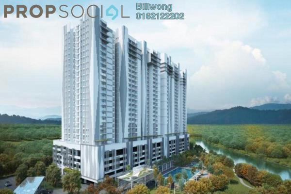 For Sale Condominium at Riverville Residences, Old Klang Road Freehold Unfurnished 3R/2B 670k