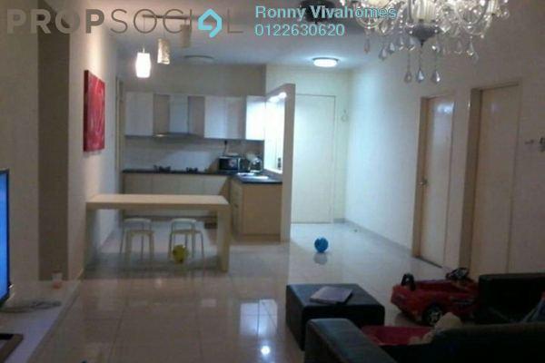 For Sale Condominium at Platinum Hill PV2, Setapak Freehold Semi Furnished 4R/2B 720k