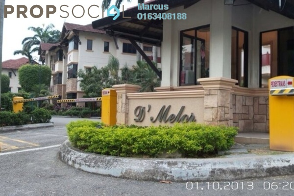 For Sale Condominium at D'Melor, Cyberjaya Freehold Fully Furnished 3R/2B 550k