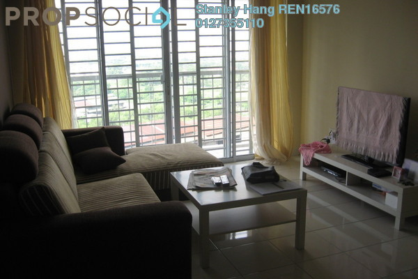 For Rent Condominium at Koi Kinrara, Bandar Puchong Jaya Freehold Fully Furnished 3R/2B 1.6k