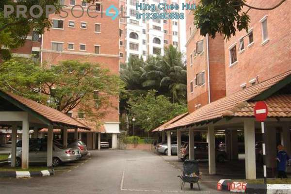 For Sale Condominium at Evergreen Park, Bandar Sungai Long Freehold Semi Furnished 4R/3B 690k