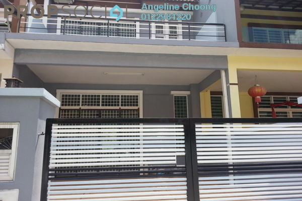 For Rent Terrace at Ampang Saujana, Ampang Leasehold Semi Furnished 4R/3B 1.85k