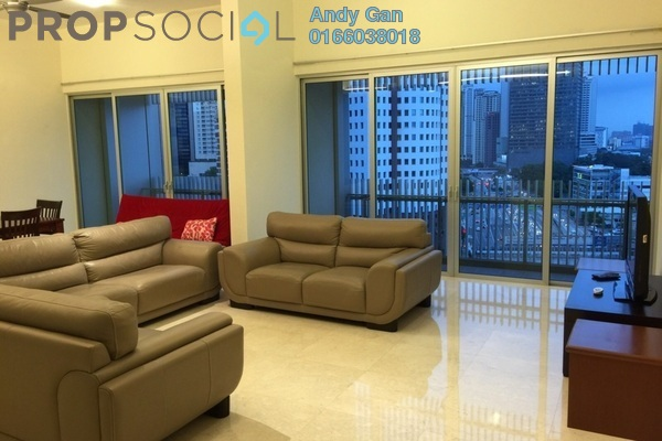 For Rent Condominium at Dua Residency, KLCC Freehold Fully Furnished 5R/5B 8.5千