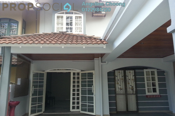 For Rent Terrace at Taman Melawati, Kuala Lumpur Leasehold Semi Furnished 4R/3B 2.15k