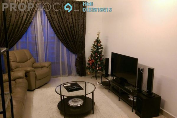 For Sale Condominium at Zen Residence, Puchong Leasehold Fully Furnished 2R/2B 570k