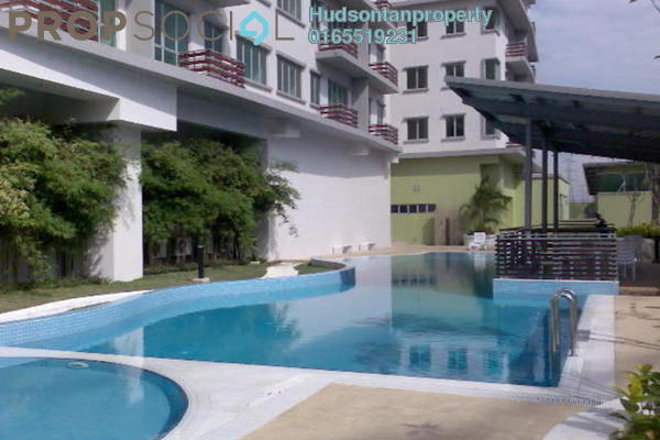 For Rent Condominium at e-Tiara, Subang Jaya Freehold Fully Furnished 2R/1B 1.65k