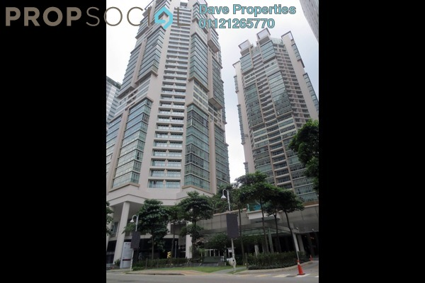 For Rent Condominium at Marc Service Residence, KLCC Freehold Semi Furnished 4R/4B 9.5k