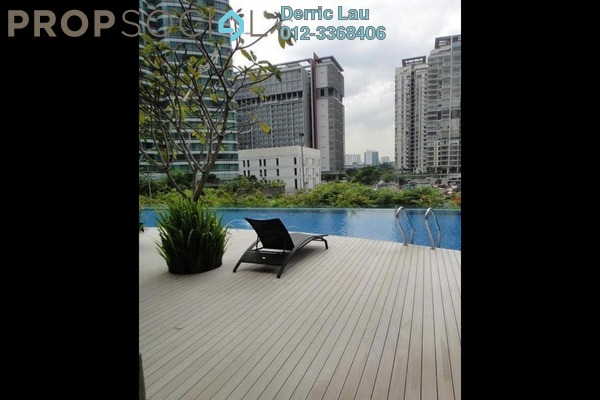 For Rent Condominium at The Oval, KLCC Freehold Semi Furnished 3R/5B 10k