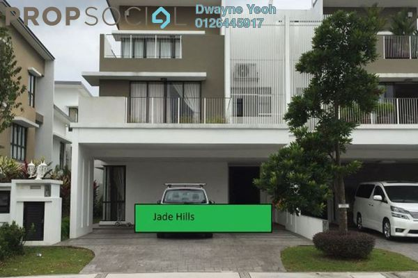 For Rent Semi-Detached at Jade Hills, Kajang Freehold Semi Furnished 5R/6B 3.2k