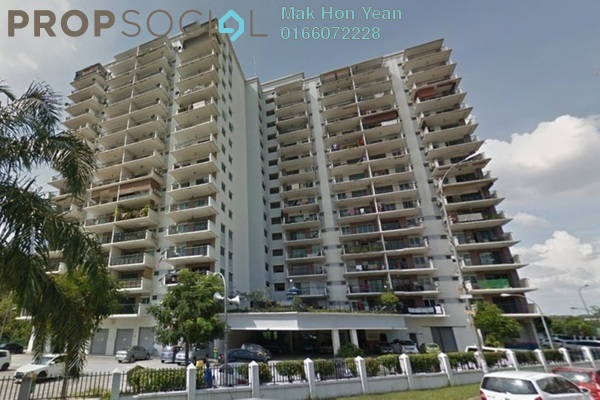For Sale Condominium at Indahria Apartment, Shah Alam Freehold Unfurnished 3R/2B 300k