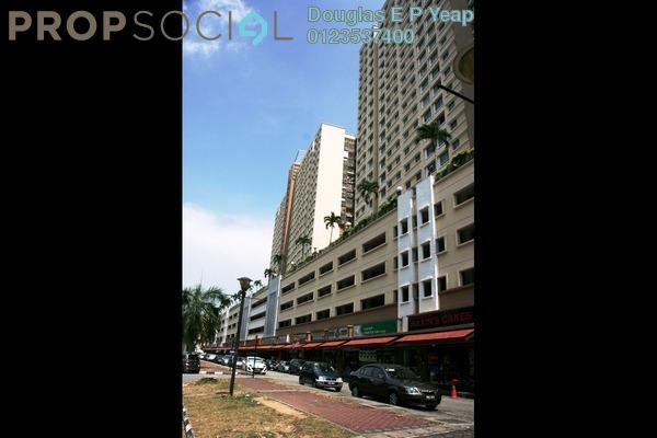 For Sale Condominium at Taman Kheng Tian, Jelutong Freehold Unfurnished 3R/3B 340k