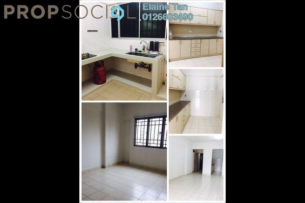 For Rent Apartment at Villa Tropika @ Pudu Impian II, Cheras Freehold Semi Furnished 3R/2B 1.5k