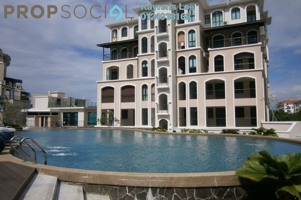 For Rent Condominium at Moonlight Bay, Batu Ferringhi Freehold Unfurnished 4R/4B 6k