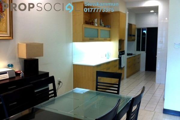 For Rent Condominium at Armanee Terrace I, Damansara Perdana Leasehold Semi Furnished 4R/3B 3.5k