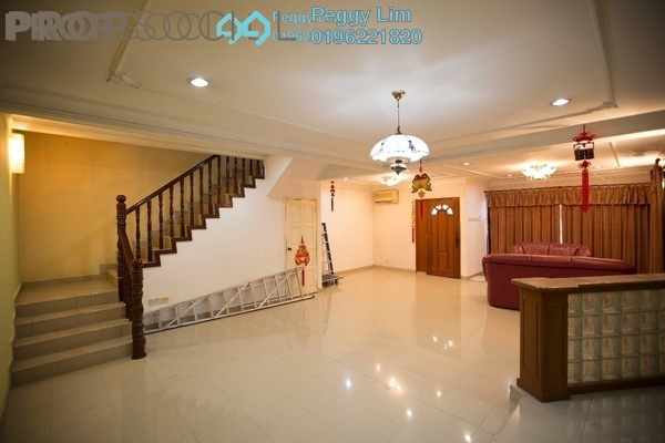 For Sale Terrace at Taman Wahyu, Jalan Ipoh Leasehold Semi Furnished 4R/3B 880k