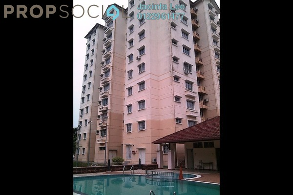 For Sale Condominium at Elaeis 1, Bukit Jelutong Freehold Semi Furnished 3R/2B 330k