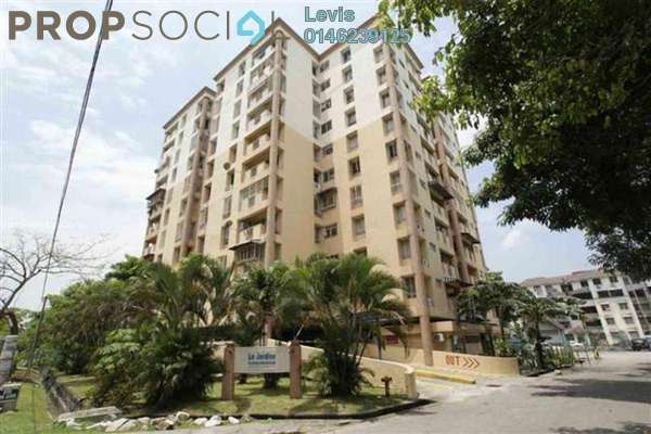 For Rent Condominium at Le Jardine, Pandan Indah Freehold Fully Furnished 3R/2B 1.6k