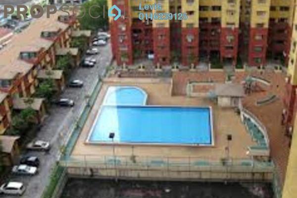 For Rent Condominium at Winner Heights, Desa Petaling Leasehold Semi Furnished 3R/2B 1.35k
