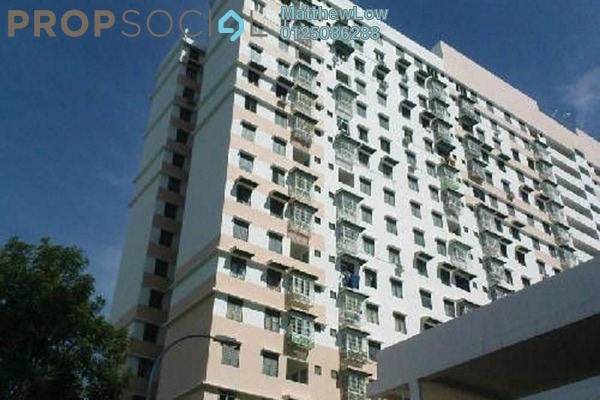 For Rent Apartment at Sri Aman Apartment, Relau Freehold Fully Furnished 3R/1B 950translationmissing:en.pricing.unit