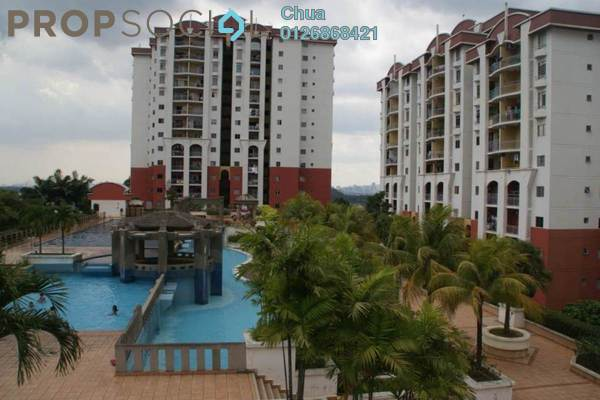 For Sale Condominium at Ketumbar Hill, Cheras Freehold Fully Furnished 3R/2B 498k