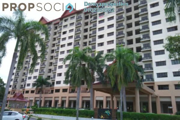For Rent Condominium at Kristal Villa, Kajang Freehold Unfurnished 3R/2B 900translationmissing:en.pricing.unit