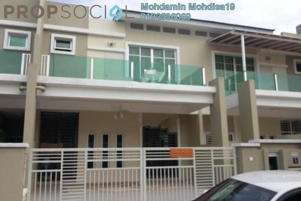 For Rent Terrace at Nusari Bayu, Bandar Sri Sendayan Freehold Semi Furnished 4R/4B 1.4k