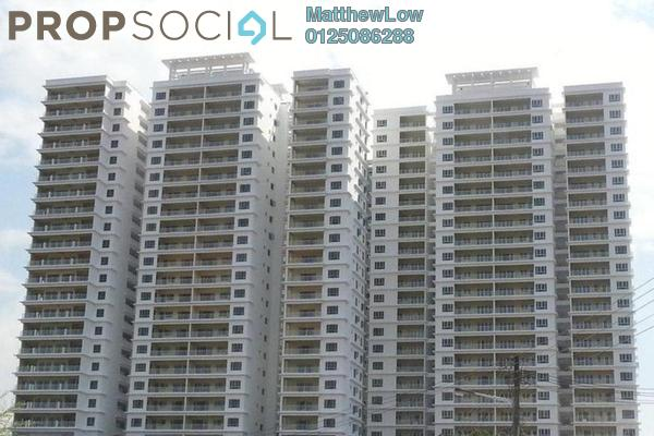 For Rent Condominium at The One, Bayan Baru Leasehold Fully Furnished 3R/2B 1.8k