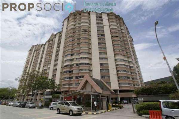 For Rent Condominium at De Tropicana, Kuchai Lama Leasehold Semi Furnished 3R/2B 1.35k