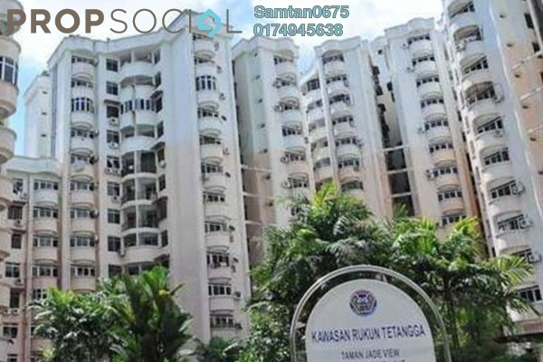For Rent Apartment at Jade View, Bukit Gambier Freehold Semi Furnished 3R/2B 800translationmissing:en.pricing.unit