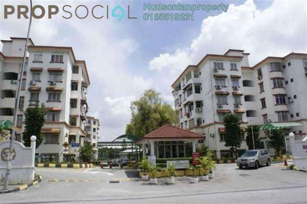 For Rent Condominium at Goodyear Court 3, UEP Subang Jaya Freehold Semi Furnished 3R/2B 1k