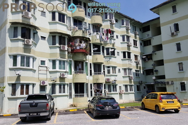 For Sale Apartment at Taman Sri Sentosa, Old Klang Road Leasehold Semi Furnished 3R/2B 350k