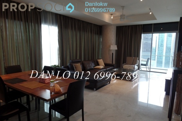 For Rent Condominium at Pavilion Tower, Bukit Bintang Freehold Fully Furnished 2R/2B 8k