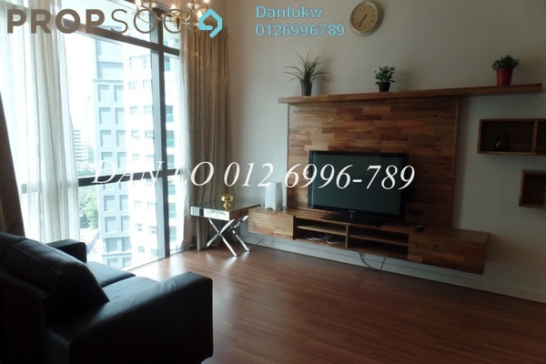 For Rent Condominium at Panorama, KLCC Freehold Fully Furnished 0R/1B 3.5k