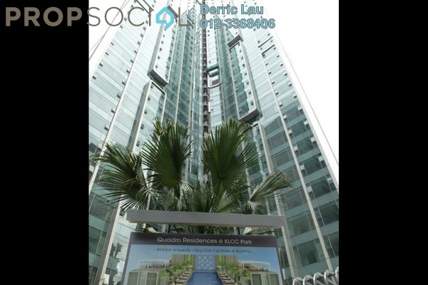 For Rent Condominium at Quadro Residences, KLCC Freehold Fully Furnished 3R/3B 7.5k