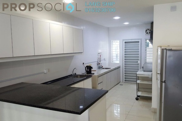 For Sale Terrace at Seri Jalil, Bukit Jalil Freehold Fully Furnished 7R/7B 1.89m