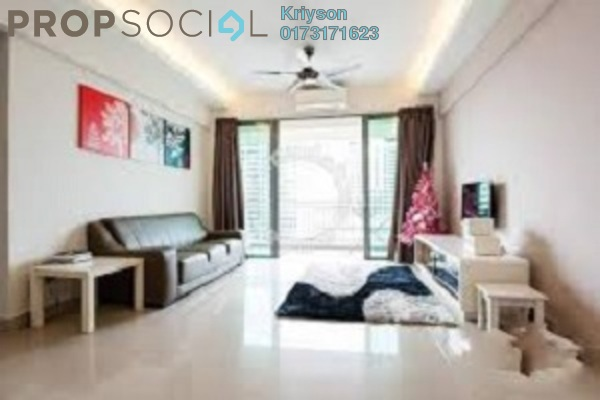 For Rent Condominium at Heritage, Setapak Freehold Fully Furnished 3R/2B 1.2k