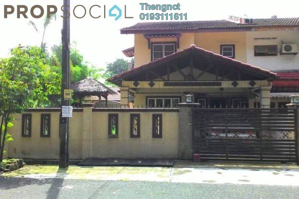 For Sale Terrace at Taman Sri Muda, Shah Alam Freehold Semi Furnished 4R/3B 658k