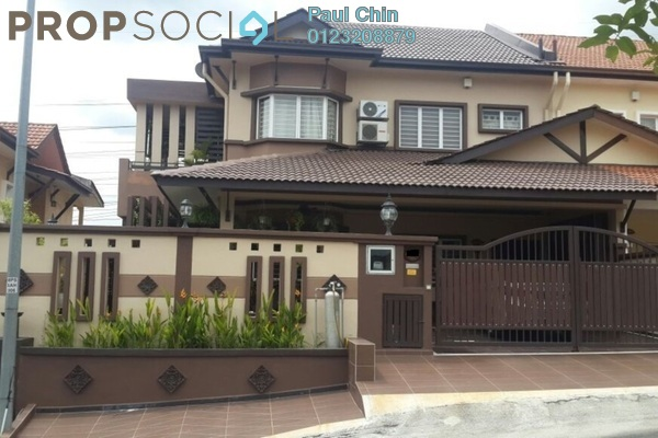 For Sale Semi-Detached at Seri Aman Heights, Sungai Buloh Freehold Semi Furnished 5R/3B 1.4m