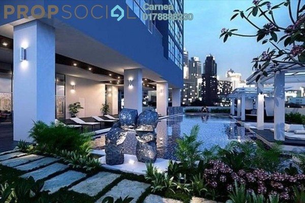 For Sale Serviced Residence at Laman Ceylon, Bukit Ceylon Freehold Fully Furnished 2R/2B 1.48m