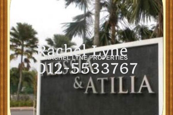 For Sale Terrace at Atilia, Ara Damansara Leasehold Unfurnished 5R/5B 1.25Juta