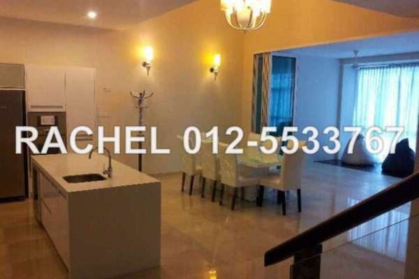 For Rent Condominium at Sunway Vivaldi, Mont Kiara Freehold Semi Furnished 3R/4B 7.5k