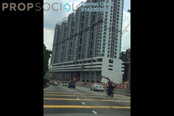 For Rent Condominium at Central Residence, Sungai Besi Freehold Unfurnished 2R/2B 1.5k