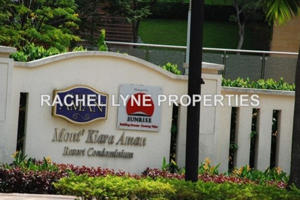 For Rent Condominium at Mont Kiara Aman, Mont Kiara Leasehold Semi Furnished 3R/3B 6.8k