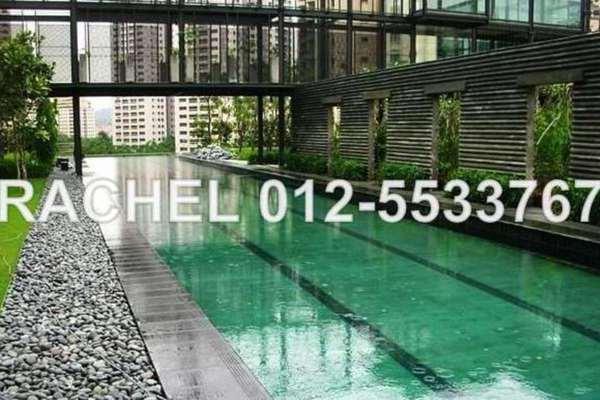 For Rent Condominium at 10 Mont Kiara, Mont Kiara Leasehold Semi Furnished 4R/5B 10k
