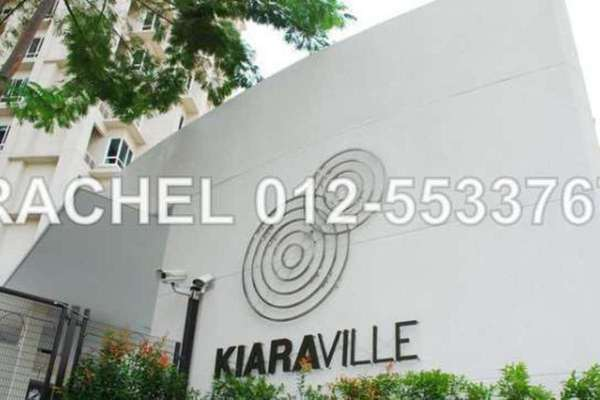 For Rent Condominium at Kiaraville, Mont Kiara Leasehold Semi Furnished 3R/3B 5.8k